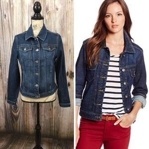 Lee Denim Button Up Jacket Size Small